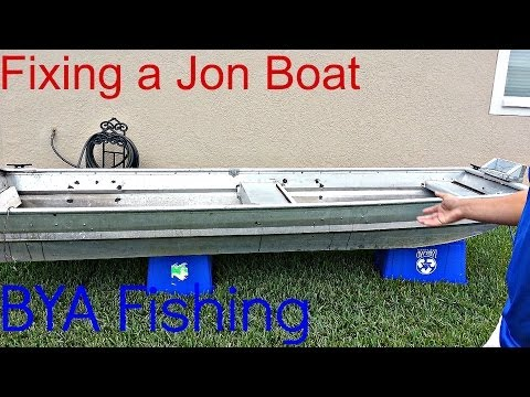 How to Find & Fix Holes in a Jon Boat | Easy