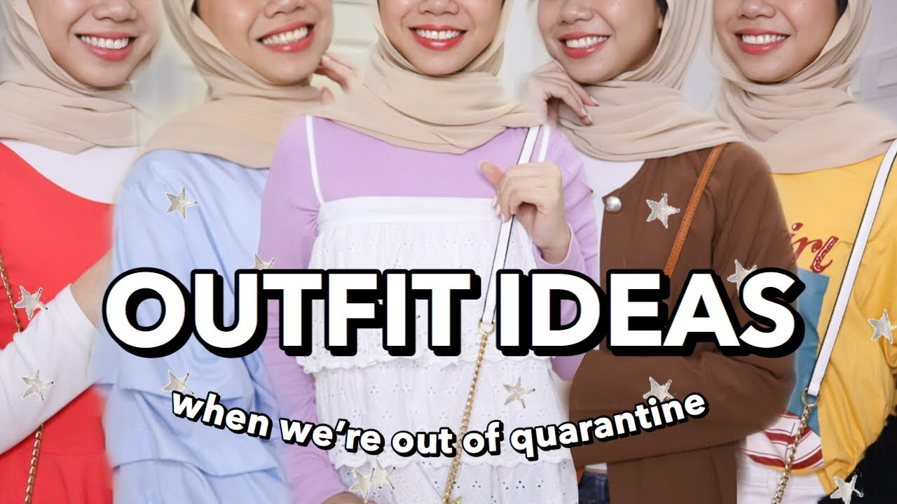 OUTFIT IDEAS (when we're out of quarantine) + ESTARER GIVEAWAY
