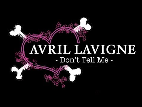Avril Lavigne - Don't Tell Me [Guitar Tuto/Lesson/Cover With CHORDS]