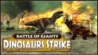 Combat of Giants: Dinosaurs Strike | Neon-Raptor-Fighting-Game!