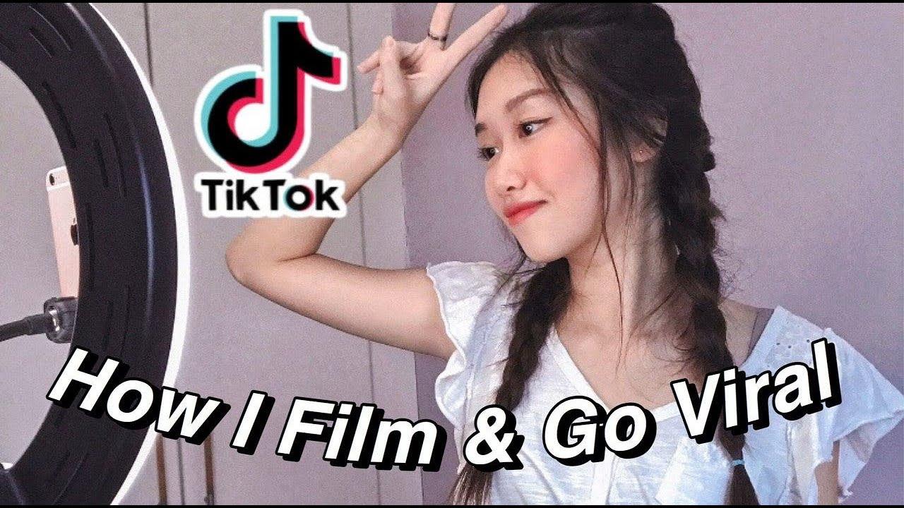 How I Film My TIK TOK & Go VIRAL