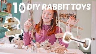 10 DIY RABBIT TOYS