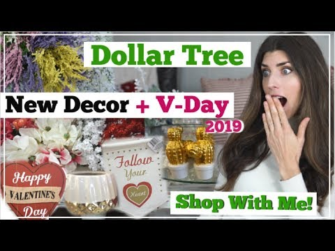 NEW Dollar Tree SHOP WITH ME Valentines Day | NEW DECOR + Or