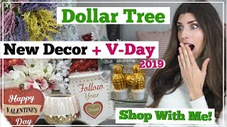 NEW Dollar Tree SHOP WITH ME Valentines Day | NEW DECOR + Organization | Momma From Scratch