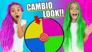 Cambio de look de Las Ratitas con la ruleta SaneuB