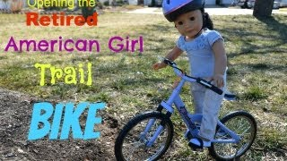Opening The Retired Ag Doll Trail Bike! (photo Shoot At End)