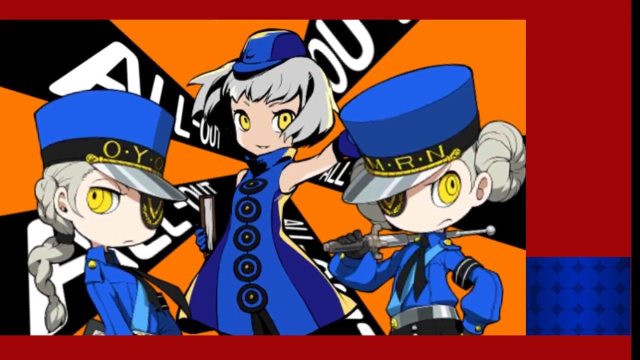 PERSONA Q2 :Vs  The Velvet Rangers (8 turns/No death/No DLC)--READ  DESCRIPTION