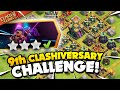Easily 3 Star the 9th Clashiversary Challenge Clash of Clans