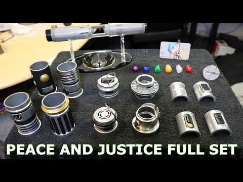 Star Wars Galaxy's Edge - Savi's Peace And Justice Full Set Review