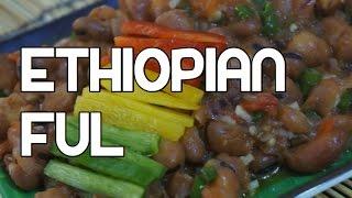 Ethiopian Ful Medames Recipe - Amharic Fava Beans Shahan Video