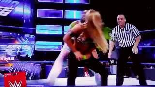 Wwe Naomi Becky lynch Nikki Bella vs Carmella Natalya and Alexa bliss