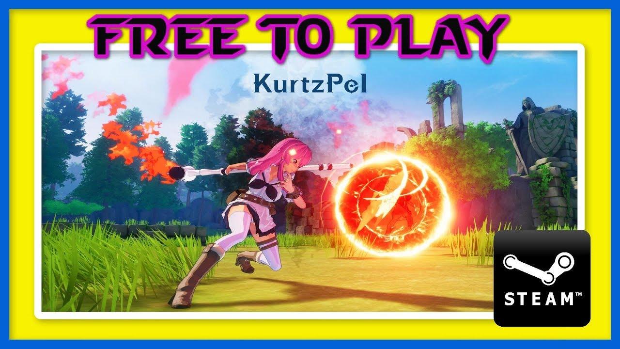📢 JUEGAZO ANIME FREE TO PLAY 👉 KURTZPEL 👈 THIRD-PERSON PVP | 30 ABRIL EN  STEAM | TRAILER GAMEPLAY