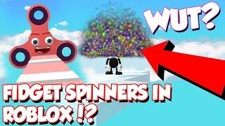 FIDGET SPINNERS EN ROBLOX!? EL MINIJUEGO DE ROBLOX!?! / DefildPlays