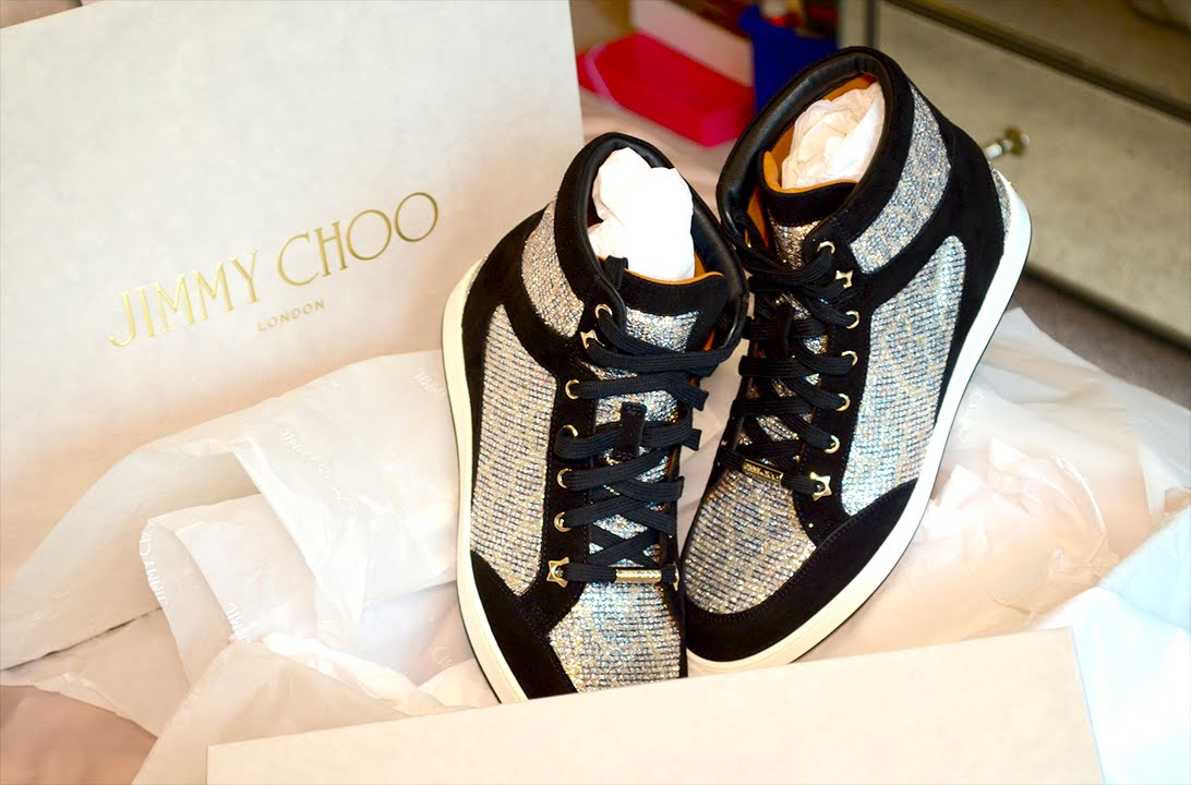 03e892c7d5819 Jimmy Choo Tokyo Sneaker Unboxing | Fit, Price & Review - YouTube