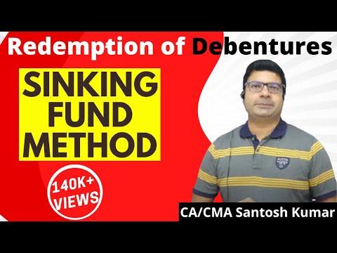 redemption of debentures ( sinking fund method)  by Santosh kumar (CA/CMA)