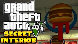 GTA 5 - SECRET & HIDDEN BURGER SHOT INTERIOR! - NEVER BEFORE SEEN! (GTA 5 Secret Location)