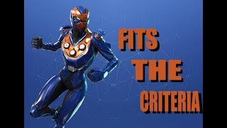 *ALL NEW* CRITERION SKIN!! - FORTNITE BATTLE ROYALE VICTORY!!