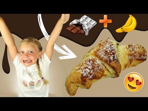 ♡•-recette-petit-dÉjeuner-croissant-chocolat-banane-|-facile-et-rapide-•♡