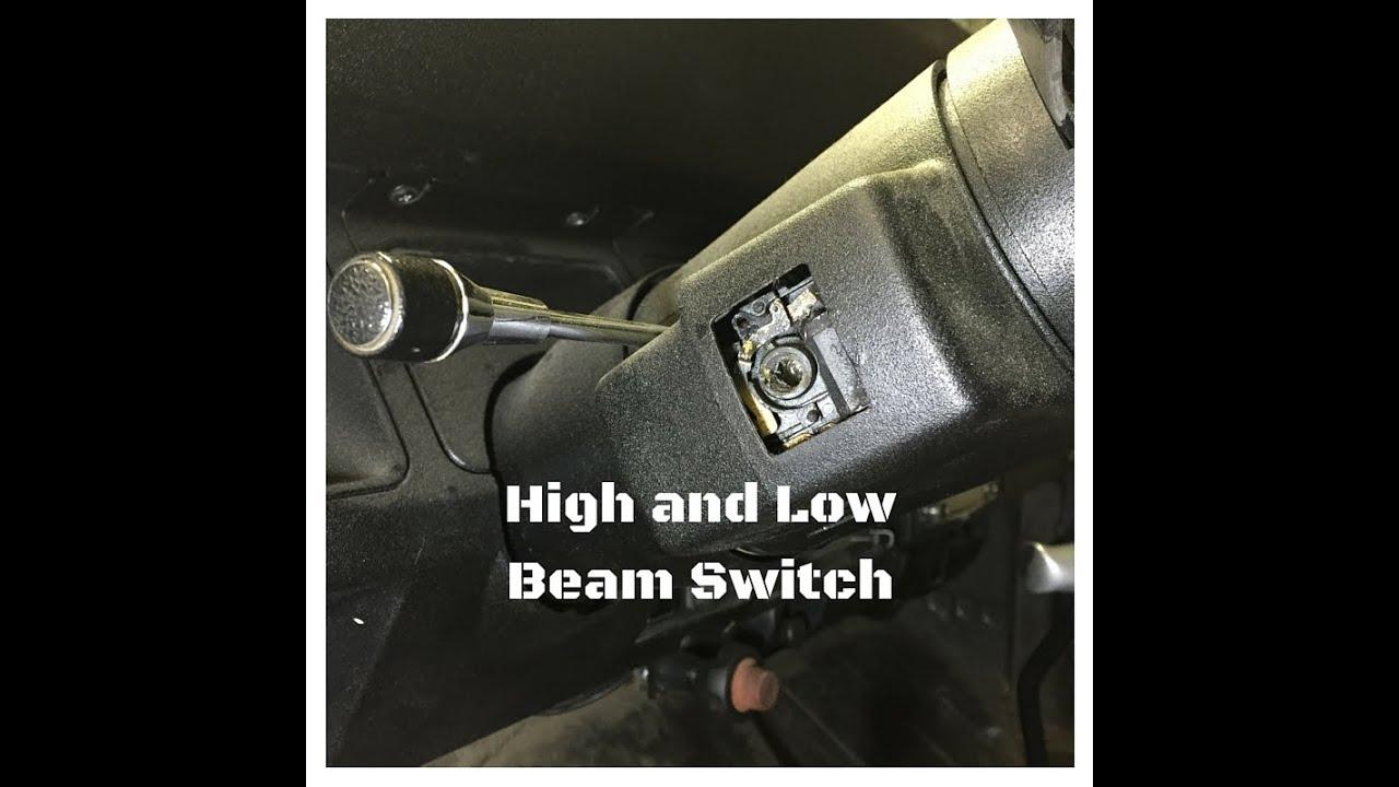 headlight turn signal wiper switch for jeep wrangler yj [ 1280 x 720 Pixel ]
