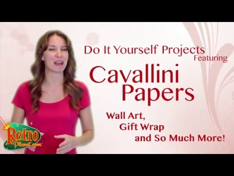 Cavallini Papers - Posters Wraps and So Much More from Retro Planet