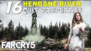 Location Of All Shrines Cult Properties In Henbane River Faith S Region False Idols Far Cry 5 Youtube