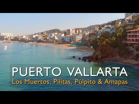 Paseo de Puerto Vallarta Zona Romántica, Los Muertos, Las Pilitas, El Púlpito, Playa Las Amapas