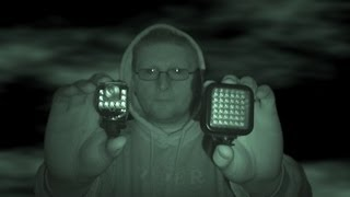IR Night Vision Lights! Sony Hvl-Hirl VS Sima SL 20-Ir SL 100-Ir
