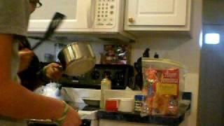 Ghetto Cooking Pancakes! :)