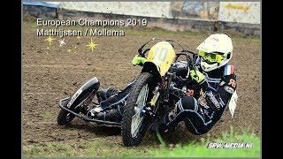 FINAL European Championship grasstrack sidecars Eenrum 2019