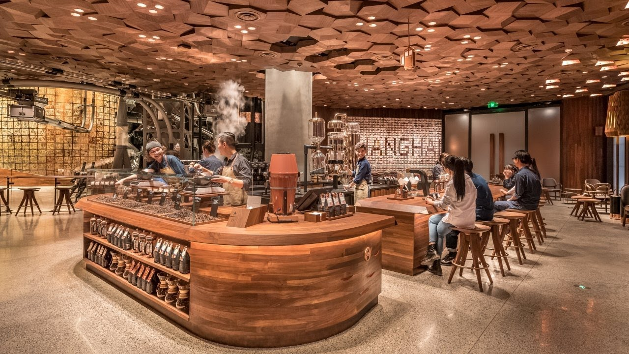 World's largest Starbucks opens in China
