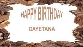 Cayetana   Birthday Postcards & Postales