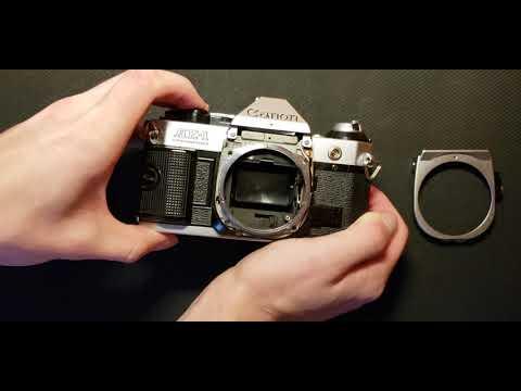 Canon AE-1 Program Shutter Squeak Fix/repair