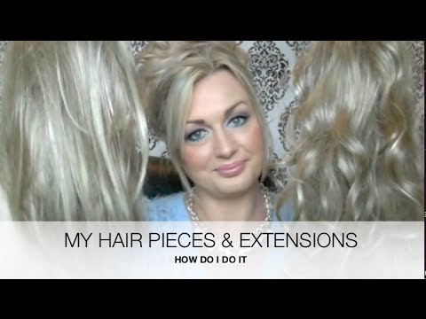 My hair pieces and extensions hairdo by ken paves how to youtube my hair pieces and extensions hairdo by ken paves how to pmusecretfo Image collections