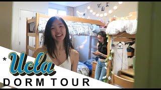 College Dorm Tour at UCLA // Sunset Village, Plaza Triple Private Bath, Courtside