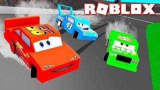 ROBLOX CARS 3-Lightning McQueen BRAUCHT HILFE!!