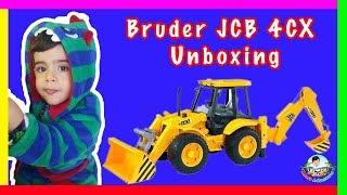 Aras Unboxes Bruder JCB 4CX Backhoe