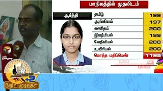 Plus 2 Results: Interview with Arthi Family Members - State 1st Student