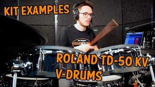 Roland TD-50  V-Drums | Kit Examples | David Cuomo