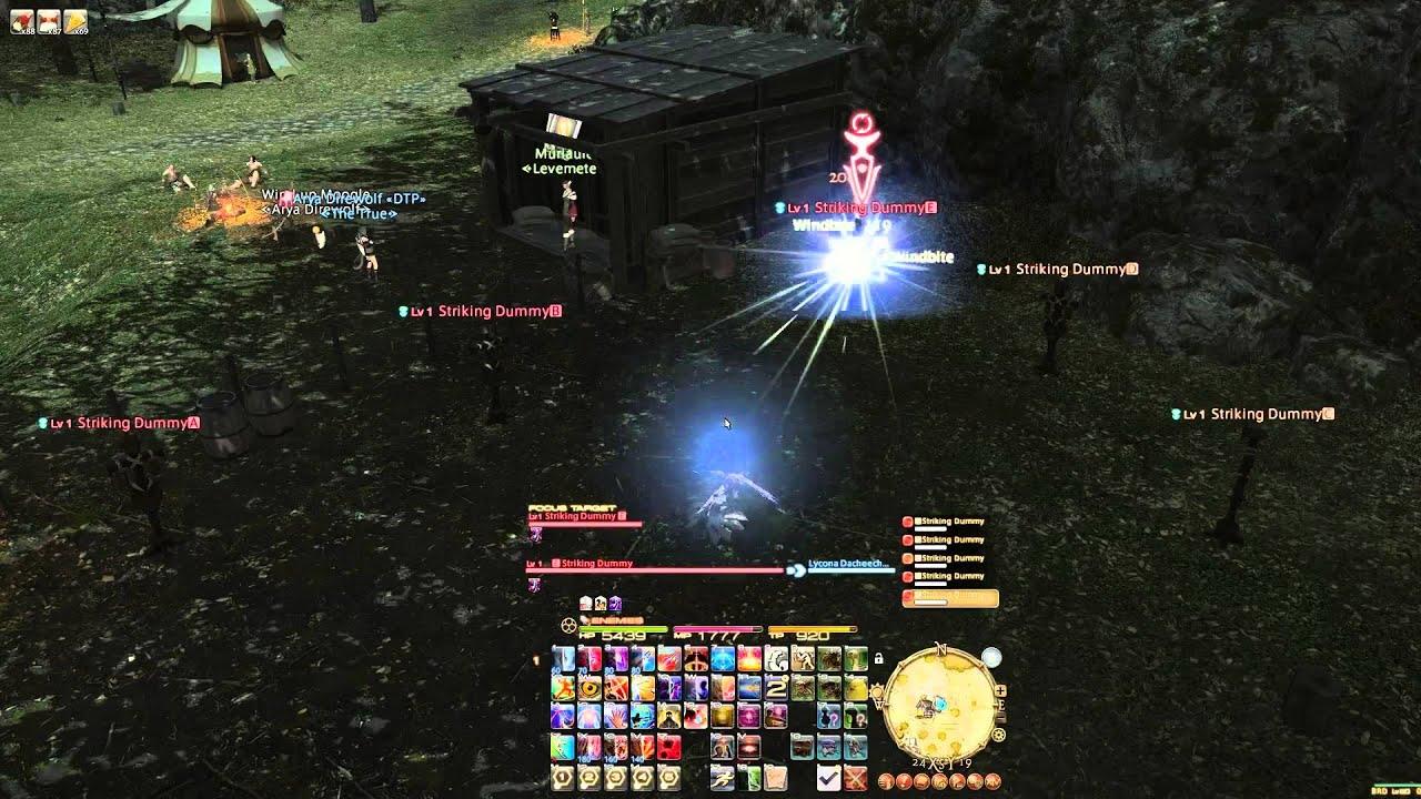 Final Fantasy XIV a Realm Reborn - Focus Targeting