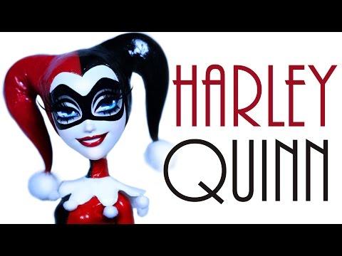 Custom Classic Harley Quinn Doll [ GOTHAM CITY SIRENS ]