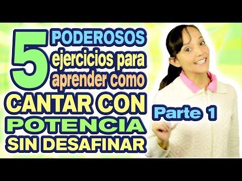 COMO CANTAR CON POTENCIA - Como cantar fuerte Ejercicios 1/2 CECI SUAREZ Clases de Canto