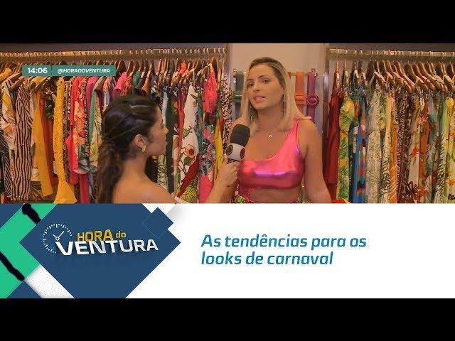As tendências para os looks de carnaval - Bloco 01