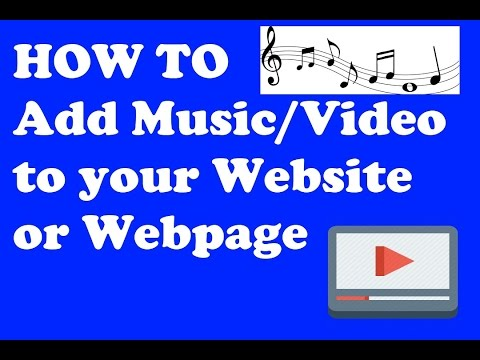 How to add Music and s to your webpage  Hindi Tutorial