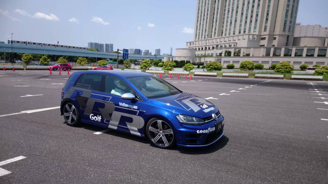 Volkswagen Golf R Drift Youtube