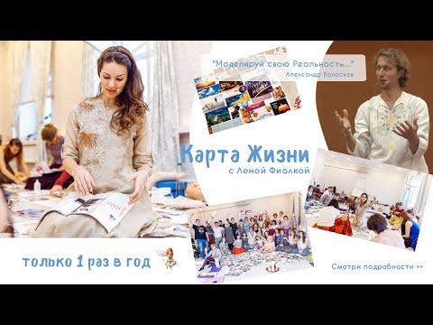 Видеоролики на заказ. Карта жизни с Леной Фиалкой.