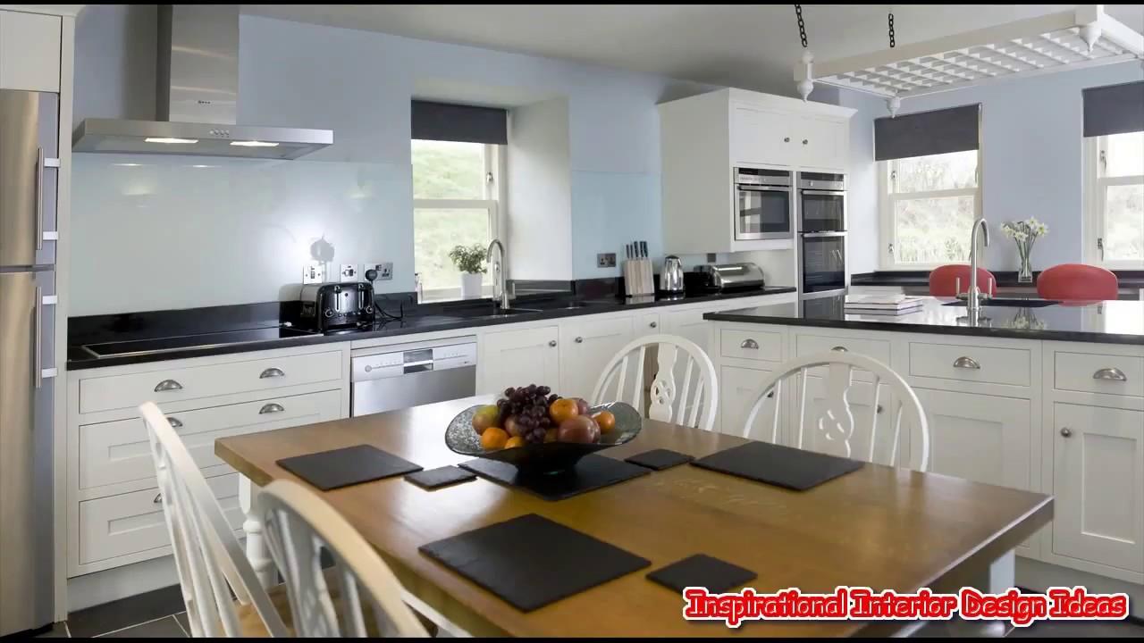 Black White And Blue Kitchen Ideas