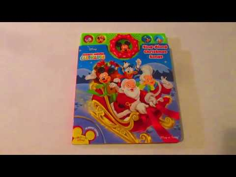 disney mickey mouse clubhouse sing along christmas songs interactive - Mickey Mouse Christmas Songs
