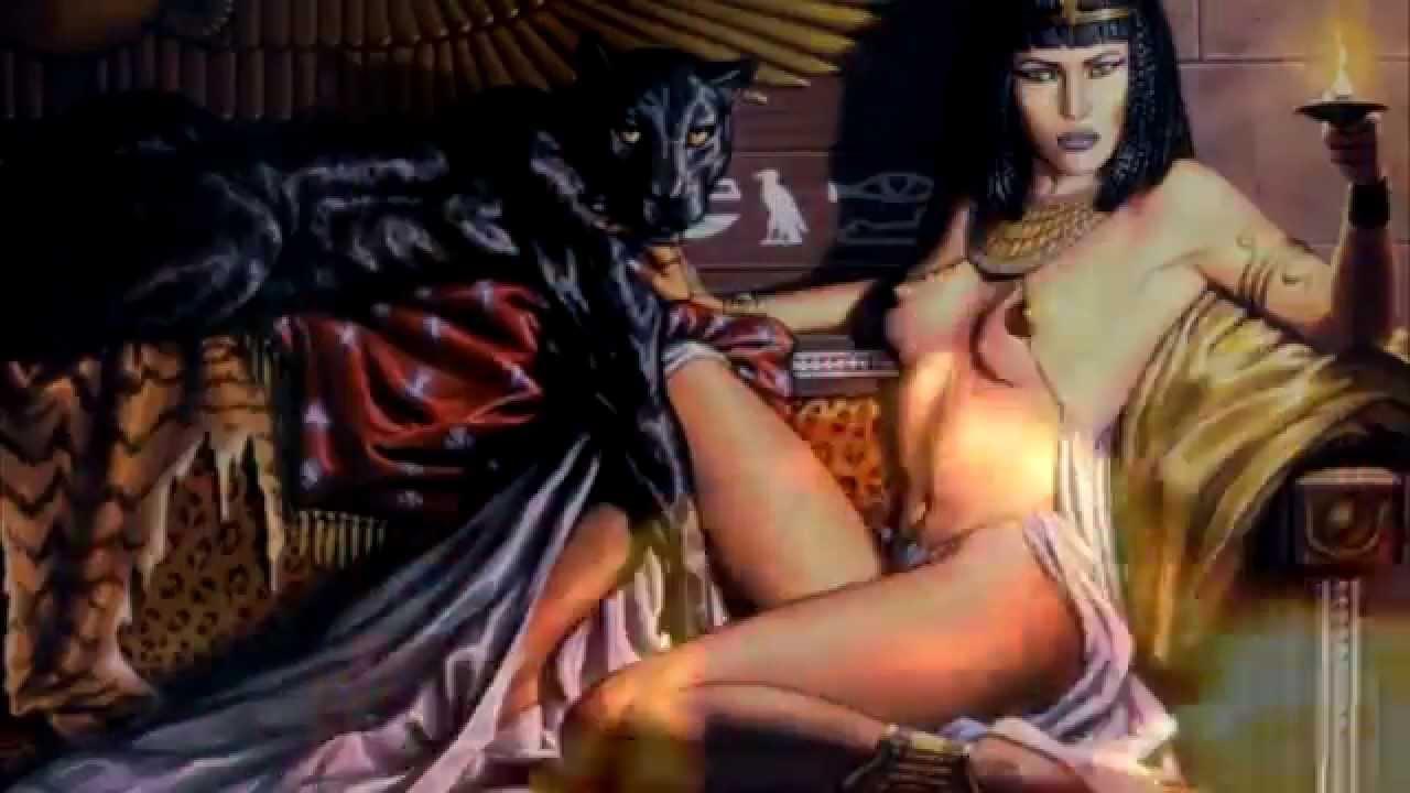 Сексуальные страсти клеопатры