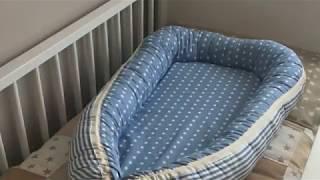 Como hacer nido reductor o cama para bebé paso a paso ♥  Laura DIY
