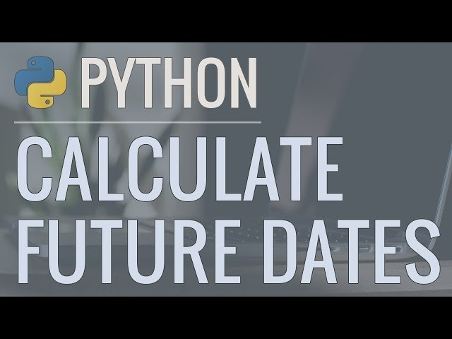 Python Tutorial: Calculate Number of Days, Weeks, or Months to Reach Specific Goals